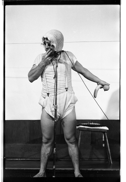 "Michael Smith, ""An Evening of Comic Performance"", 1981"