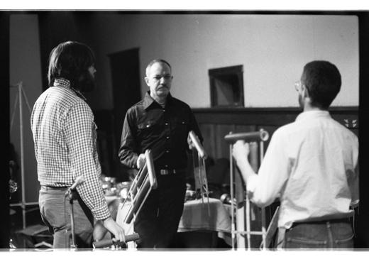"""Doug Collinge, Martin Bartlett, Dan Scheidt, """"Accumulator"""" and """"Travellers' Tales"""", 1982"""