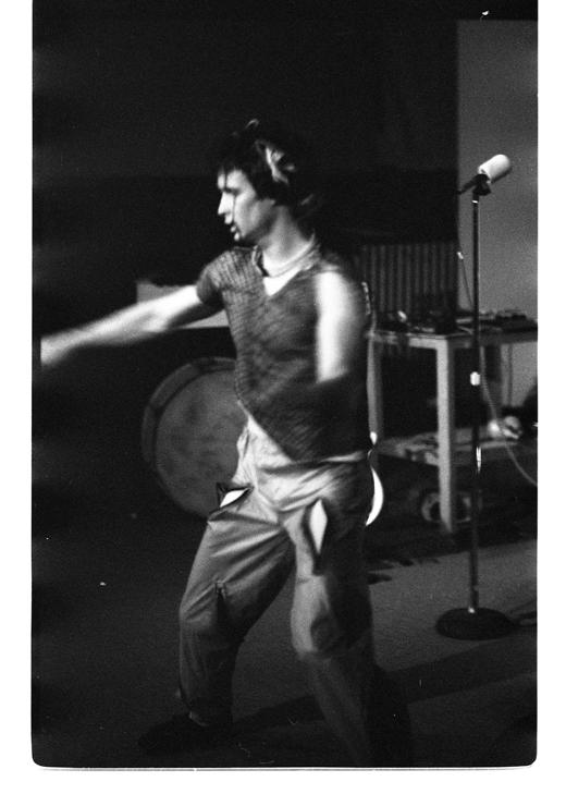 """Bob McGinley, """"The Techno Primates: In Transition"""", 1982"""