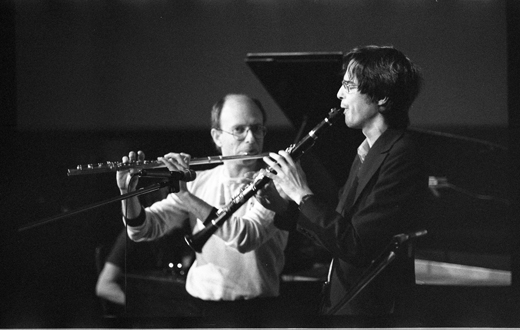 "Don Druick, Paul Cram, ""New Orchestra Workshop"", 1981"