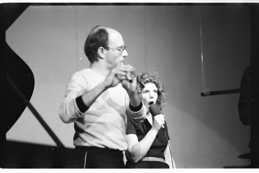 "Don Druick, Marilyn Boyle[?], ""New Orchestra Workshop"", 1981"