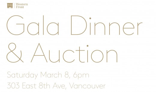 Western Front 41st Anniversary Gala Dinner & Auction