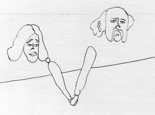 Production storyboard, Barry Doupé, 2013. Image courtesy of the artist.