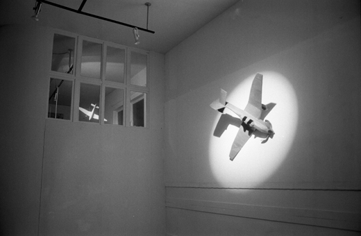 """Great Moments in Modern Art #2 Beuys Crashes his Stuka"", 1983"
