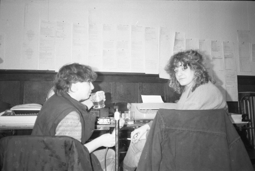 "Sylvie Hebéard and Doris Buttignol, ""La Plissure du Texte,"" 1983"