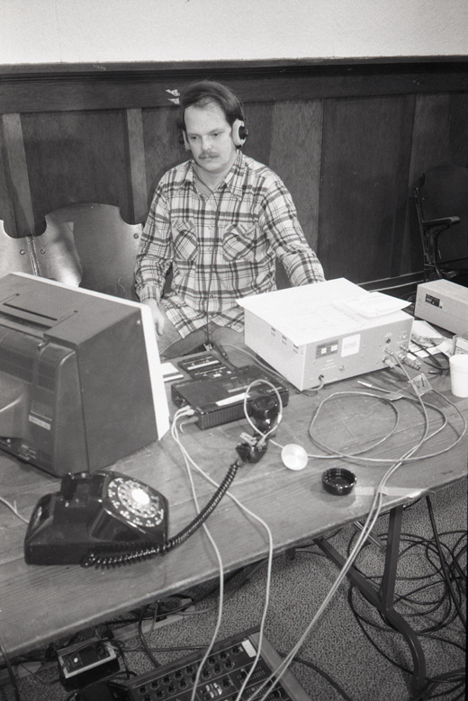 "Bill Bartlett during Telecommunications event ""Wiencouver IV"""
