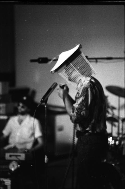 "Eugene Chadbourne performing during ""Shockabilly"""