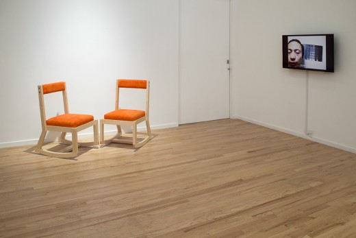 Joan Dark (installation view), Western Front, 2014. Photo credit: Maegan Hill-Carroll.