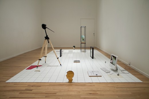 Benoît Maire, LETTER (installation view), Western Front, 2014. Photo credit: Maegan Hill-Carroll.