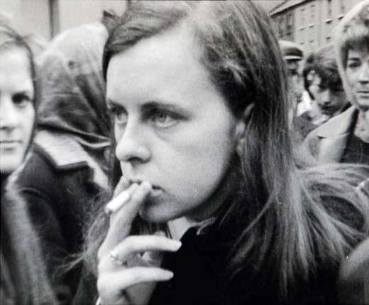 Still from Bernadette by Duncan Campbell (2008). Film transferred to video. 38 minutes 10 seconds.