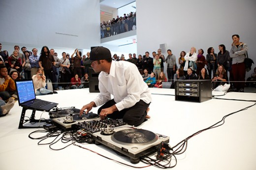 Kevin Beasley, I Want My Spot Back, at The Museum of Modern Art, October 2012