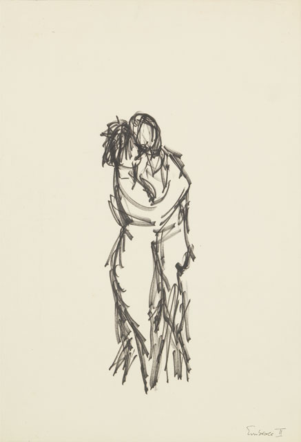 'Embrace' by P.K. Page/Irwin. Image courtesy of P.K. Page Estate. Special thanks to Zailig Pollock.