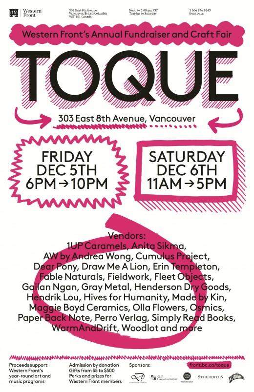 Toque 2014 poster
