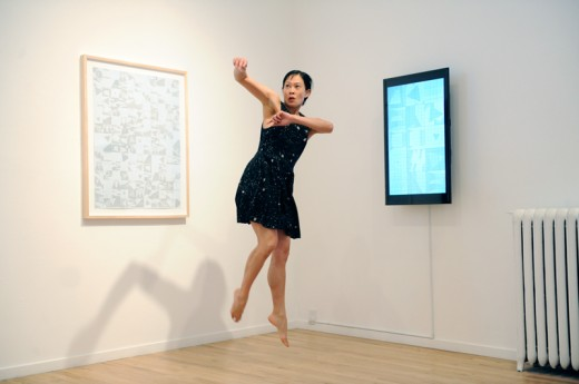 Tanya Lukin Linklater, performance by Ziyian Kwan, Western Front, 2015. Photo by Chris Randle.