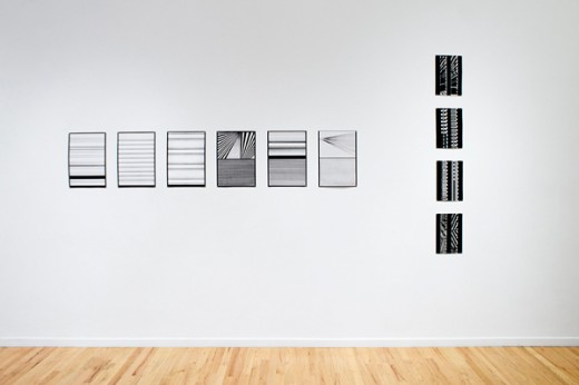 "Lis Rhodes, ""Light Music"" (installation view), Western Front, 2015. Photo by Maegan Hill-Carroll."