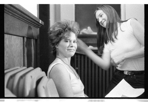 Kate Craig and Jeanette Reinhardt, 1984.