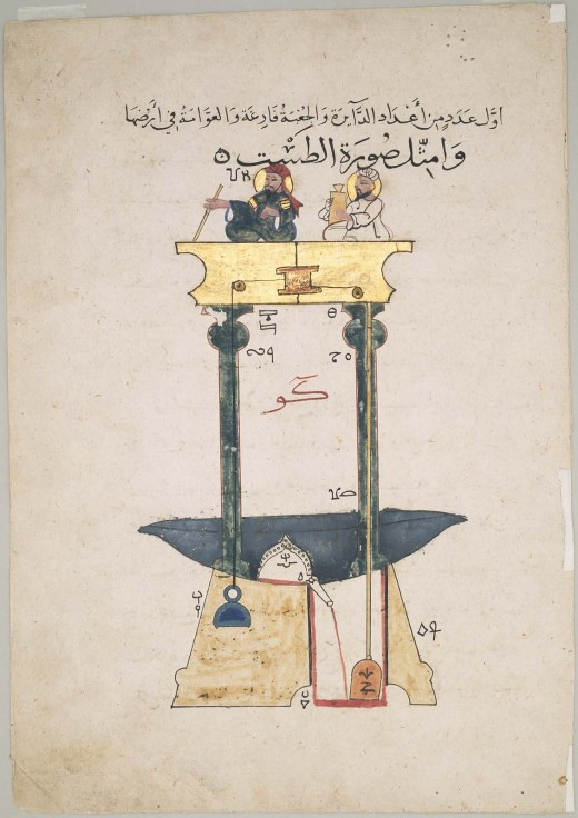 Al Jazari, Bloodletting Machine. Image courtesy of the artist.