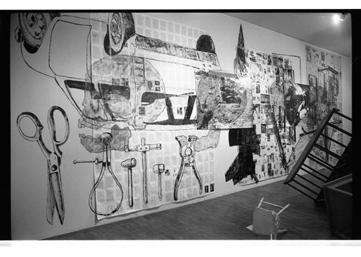 Installation by artist Robert McNealy, 1986