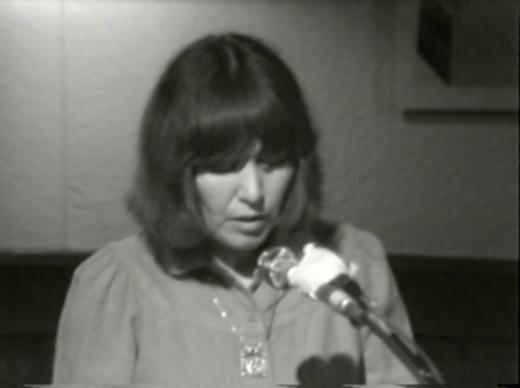 Gladys Hindmarch reading
