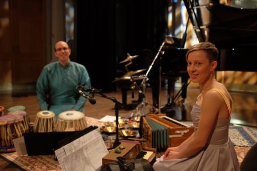 (L toR) Shawn Mativetsky and Xenia Pestova. Photo by Nick Hyatt.