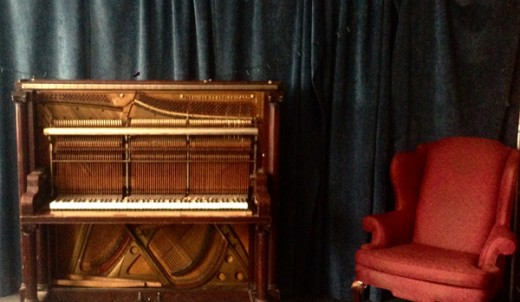 Andrew Wedman's Bass Piano. Photo courtesy of the artist.