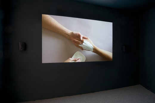"""Annie MacDonell, """"The Fortune Teller"""", Cut, Western Front, 2015. 16mm film and digital video, 16 min. Photo courtesy of Maegan Hill-Carroll."""