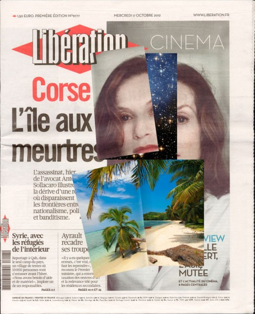 Olia Lialina, Online Newspapers, édition française, 2013. Image courtesy of the artist.