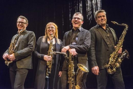 Quasar Saxophone Quartet.
