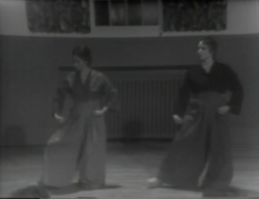 Performance by Barbara Dilley and Arawana Hayashi (1977)