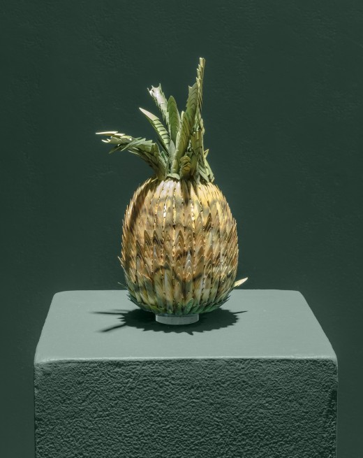 Aleesa Cohene, Whoa (Pineapple Nails), 2017