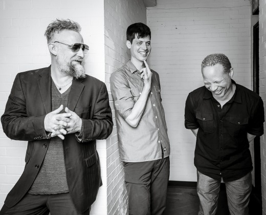 Mat Maneri, Ches Smith, Craig Taborn (L to R). Photo by Paolo Soriani