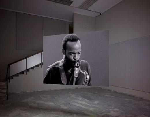 Stan Douglas, Hors-champs (Installation view from Württembergischer Kunstverein Stuttgart), 1992. Image ©Stan Douglas. Courtesy of the artist, David Zwirner, New York/London/Hong Kong and Victoria Miro, London/Venice.