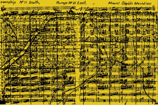 Chris Lee, research image: Jeffersonian Grid and Symphonie Fantastique by Hector Berlioz
