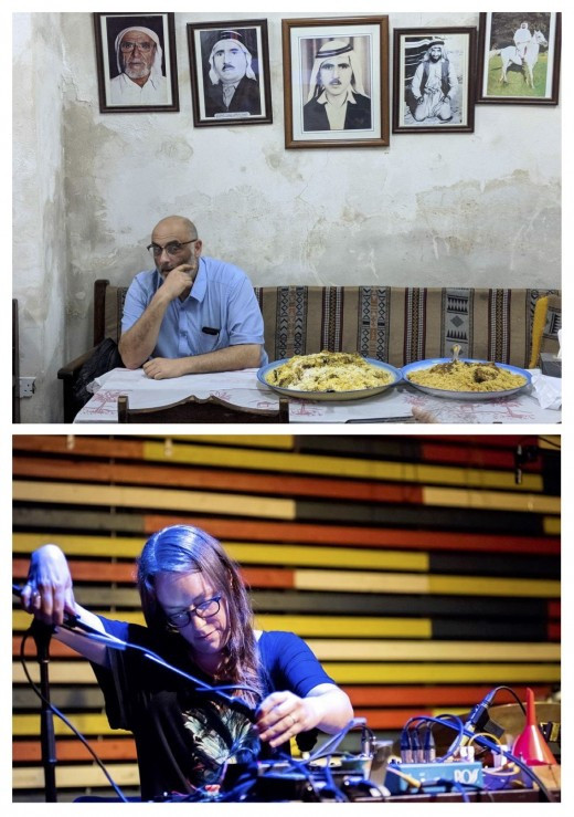 Sam Shalabi by Radwan Ghazi Moumneh, and Elizabeth Millar by Elaine Louw Graham. Images courtesy of the artists.