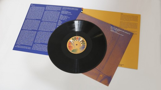 Mikrokosmos, album cover, poster, and vinyl, 2020.